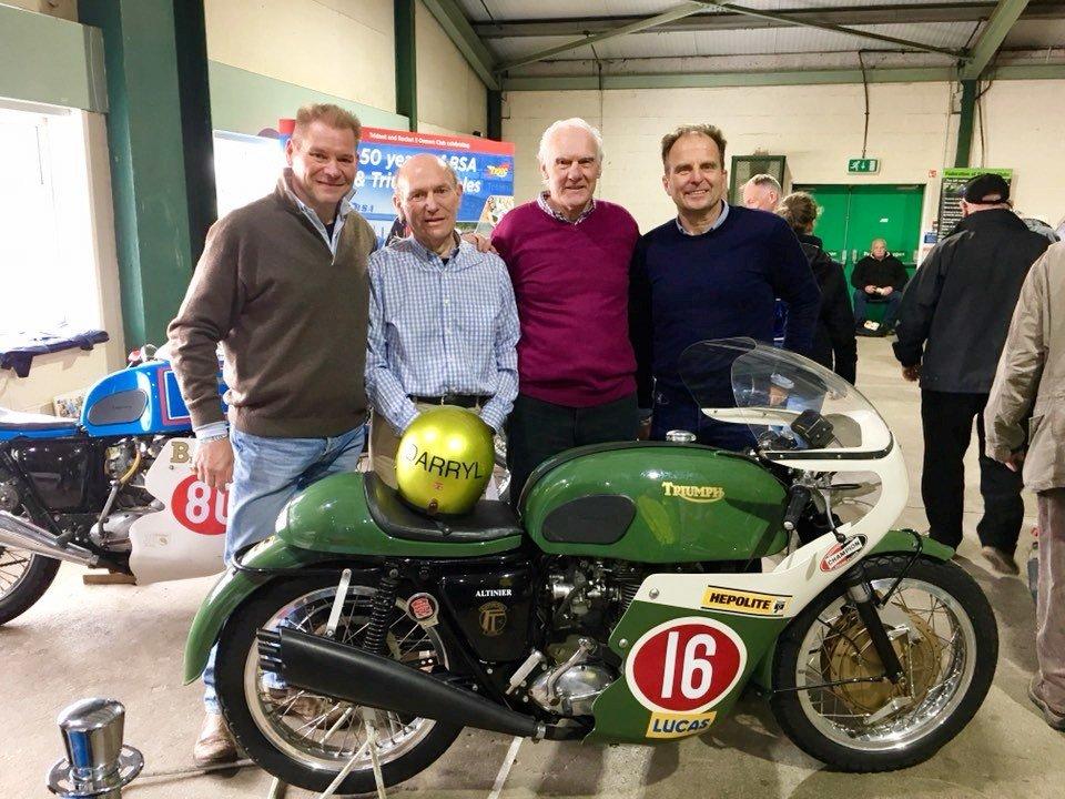 1969 Triumph Trident ex.Bennett Team TT rider Darryl Pendlebury SOLD (picture 6 of 8)