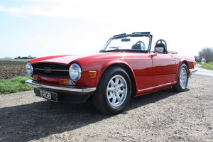 Picture of 1972 TRIUMPH TR6 SIGNAL RED WITH BLACK INTERIOR. SOLD