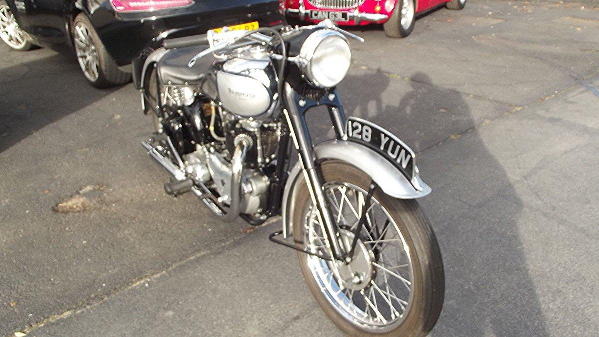 1949 TRIUMPH T100 TIGER 500CC TWIN MOTORBIKE For Sale (picture 4 of 12)