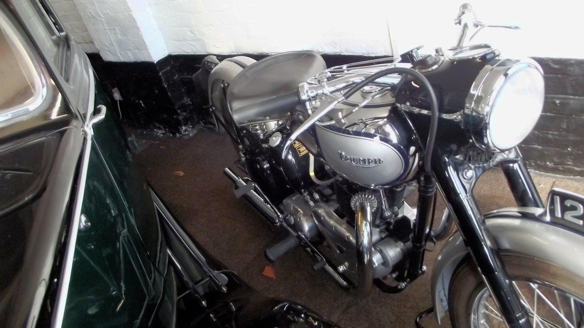 1949 TRIUMPH T100 TIGER 500CC TWIN MOTORBIKE For Sale (picture 5 of 12)