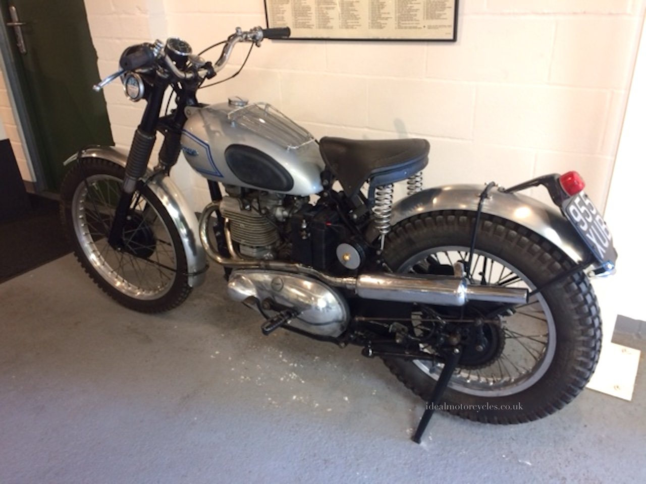 1952 Triumph Trophy Special 500cc For Sale (picture 2 of 8)