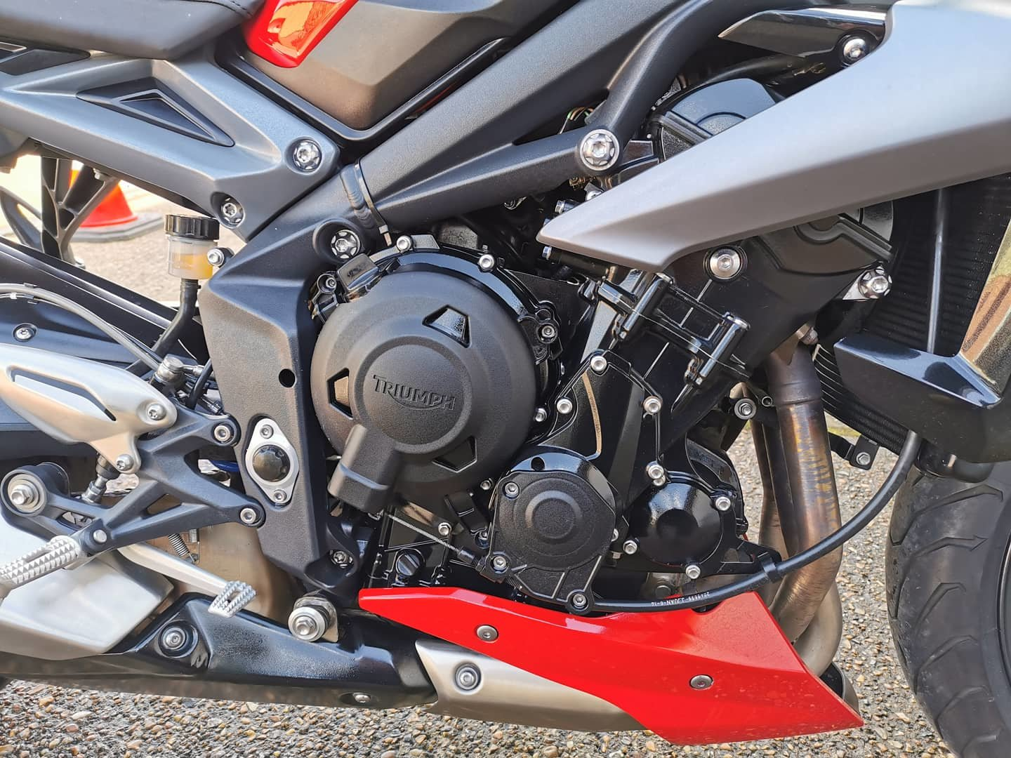 2015-64 Triumph Street triple 675 ABS *low miles* For Sale (picture 4 of 10)