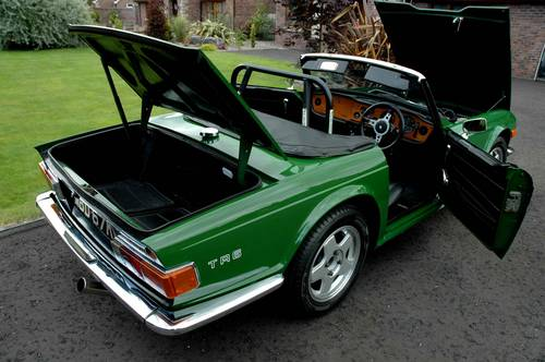 Triumph TR6 150 BHP (Overdrive) 1971 MOT'd and Tax SOLD