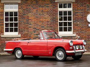 Picture of 1966 Triumph Herald For Sale by Auction