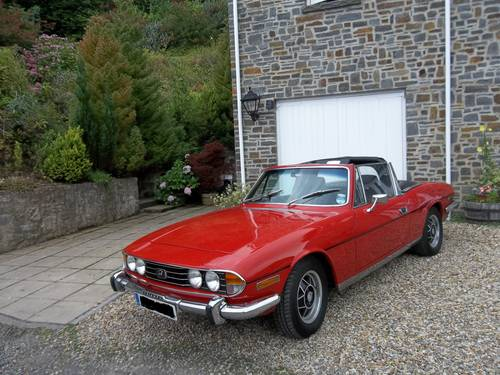 1972 Triumph Stag For Hire (picture 1 of 1)