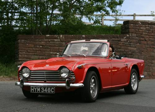 1965 Triumph TR4A IRS For Hire (picture 1 of 5)