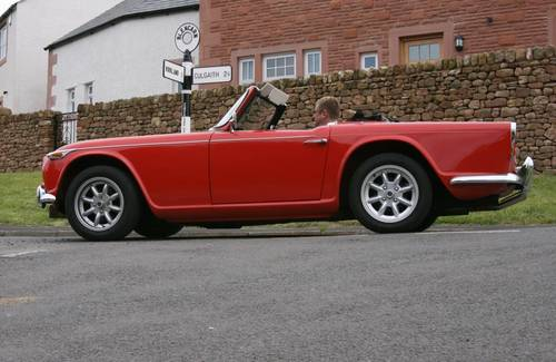 1965 Triumph TR4A IRS For Hire (picture 2 of 5)