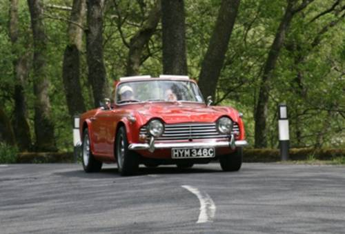 1965 Triumph TR4A IRS For Hire (picture 4 of 5)