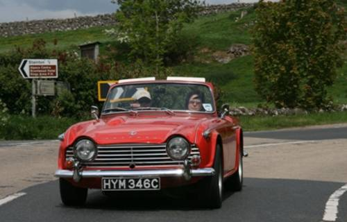 1965 Triumph TR4A IRS For Hire (picture 5 of 5)