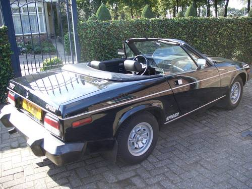 1980 Tr7 Convertible Spider Limited Edition For Sale Car And Classic
