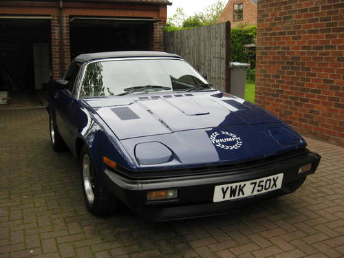 1982 Triumph Tr7 Convertible Sold Car And Classic