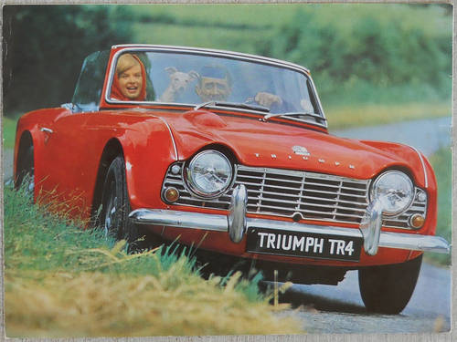 Wanted - ANY TRIUMPH TR - MUST BE IN EXCELLENT CONDITION Wanted (picture 1 of 1)