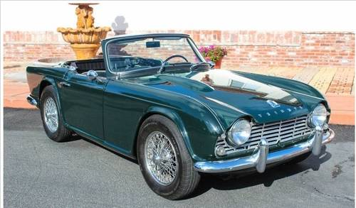 1965 Triumph TR4 For Sale | Car And Classic