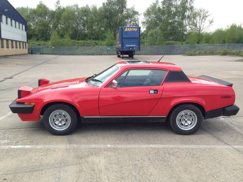 1976 Triumph Tr7 Fhc Sold Car And Classic
