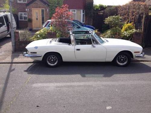 1972 Triumph Stag As Seen On Wheeler Dealers Sold Car And Classic
