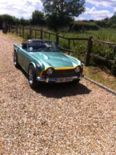 1968 Triumph TR 5 For Sale (picture 1 of 6)