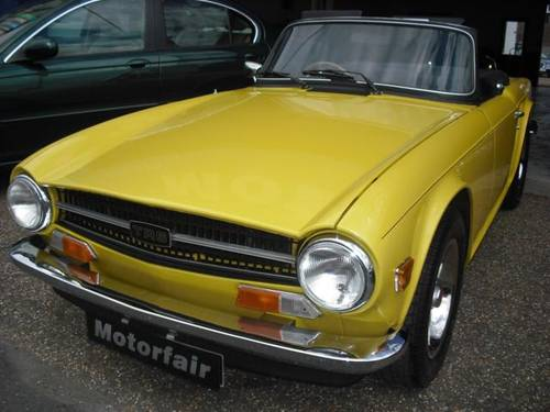 Triumph TR6 2.5 PI  Wanted (picture 3 of 3)