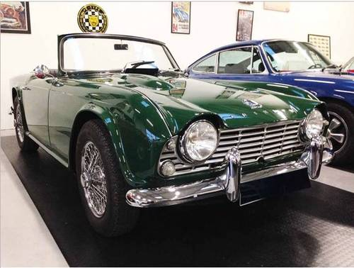 1965 Triumph Tr4a For Sale Car And Classic