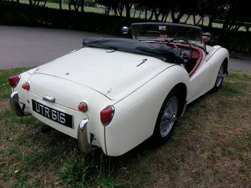 1957 TRIUMPH TR3--FULLY RESTORED--100% NUT AND-- BOLT RESTORATION For Sale (picture 1 of 3)