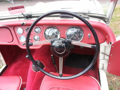 1957 TRIUMPH TR3--FULLY RESTORED--100% NUT AND-- BOLT RESTORATION For Sale (picture 2 of 3)