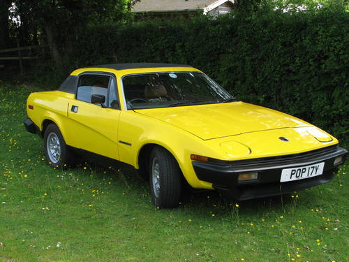 1982 Triumph Tr7 Fhc 16v Sprint Conversion Sold Car And Classic