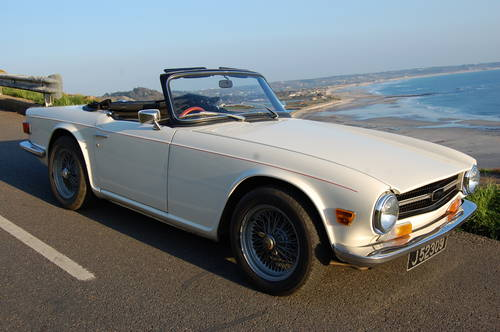 1971 Triumph TR6 for hire in Jersey 160 per day For Hire (picture 1 of 6)