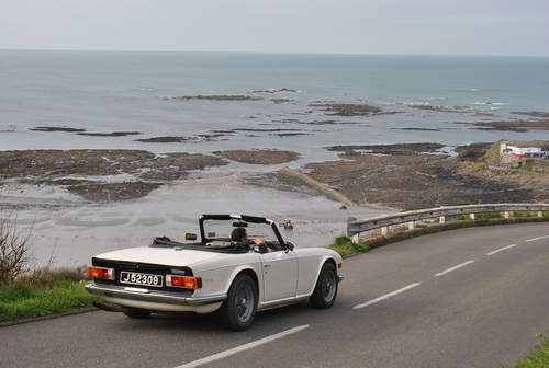 1971 Triumph TR6 for hire in Jersey 160 per day For Hire (picture 2 of 6)