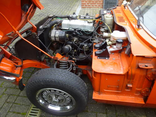 1982 Triumph Spitfire MK4.. first owner and first paint, first in For Sale (picture 4 of 6)
