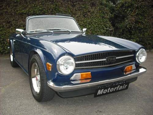 1974 TR6 WE WANT TO BUY YOUR TRIUMPH Wanted (picture 1 of 2)