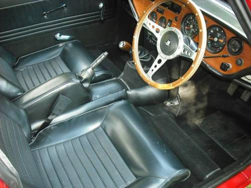 1970 STUNNING TRIUMPH GT6 MK2 OVERDRIVE UK VEHICLE For Sale (picture 4 of 6)
