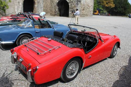 Triumph Tr3a 1958 Overdrive Numbers Match Sold Sold Car And Classic