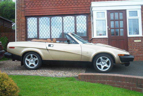 1981 Triumph Tr7 Convertible For Sale Car And Classic