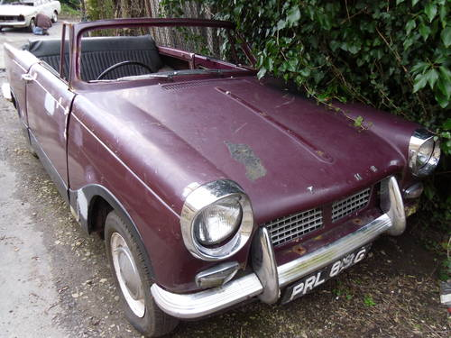 1968 Triumph Herald 1200,13/60 Breaking 4 for spares For Sale (picture 1 of 5)