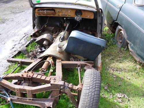 1968 Triumph Herald 1200,13/60 Breaking 4 for spares For Sale (picture 4 of 5)