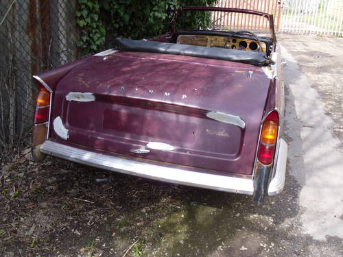 1968 Triumph Herald 1200,13/60 Breaking 4 for spares For Sale (picture 5 of 5)