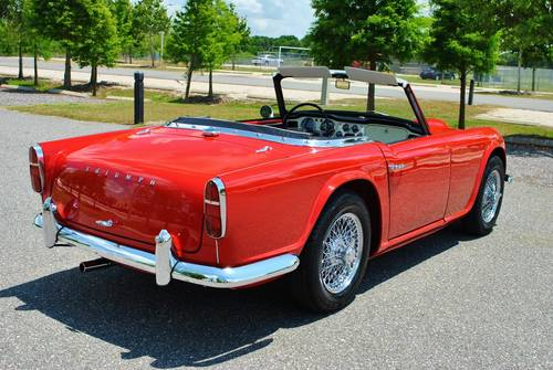 1962 Triumph TR-4 Roadster 4-Speed Rotisserie Restored For Sale (picture 3 of 6)