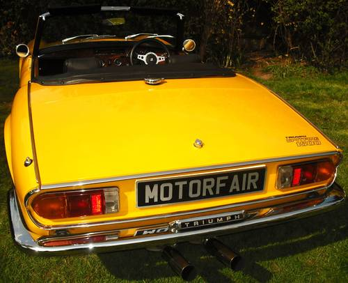 1979 CONCOURS WINNING SPITFIRE 1500 O/D PHOTOGRAPHIC RESTORATION  For Sale (picture 3 of 6)