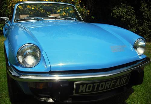 1979 SPITFIRE 1500 PAGEANT BLUE,3 OWNERS,LAST OWNER 34 YEARS For Sale (picture 1 of 6)