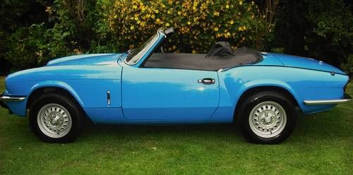 1979 SPITFIRE 1500 PAGEANT BLUE,3 OWNERS,LAST OWNER 34 YEARS For Sale (picture 2 of 6)