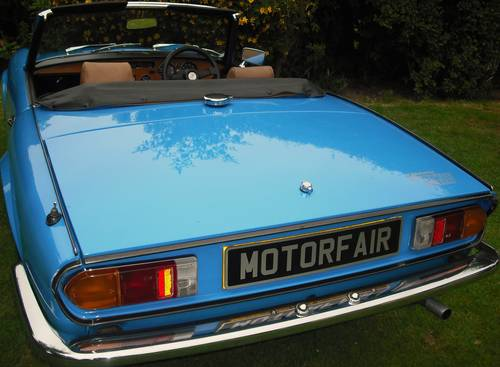 1979 SPITFIRE 1500 PAGEANT BLUE,3 OWNERS,LAST OWNER 34 YEARS For Sale (picture 3 of 6)