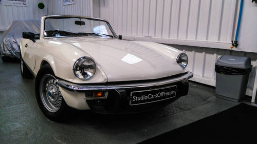 1981 Triumph Spitfire 1500 in beautiful condition NOW SOLD Wanted (picture 1 of 6)
