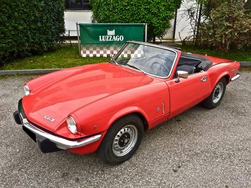 1972 TRIUMPH SPITFIRE 1300 MKIV SOLD (picture 1 of 6)