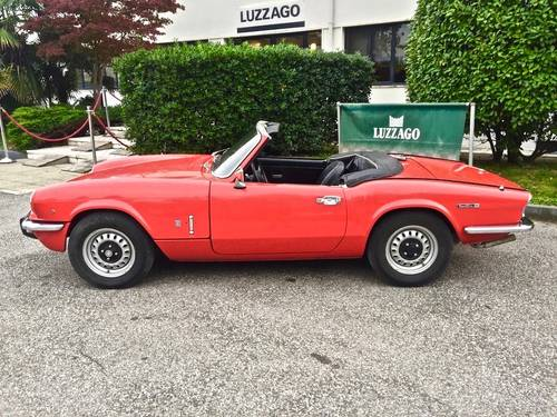 1972 TRIUMPH SPITFIRE 1300 MKIV SOLD (picture 2 of 6)