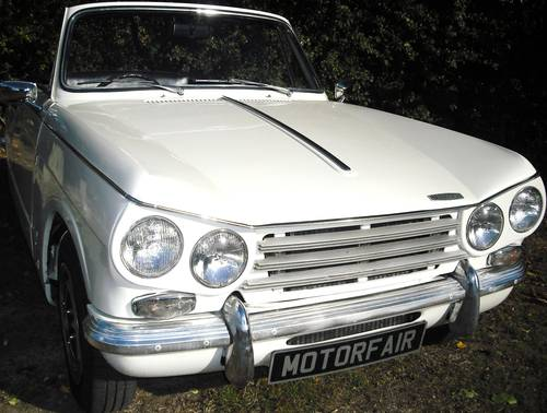 1971 STUNNING VITESSE MK2 CONVERTIBLE,OVERDRIVE,HERITAGE CERT For Sale (picture 1 of 6)