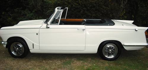 1971 STUNNING VITESSE MK2 CONVERTIBLE,OVERDRIVE,HERITAGE CERT For Sale (picture 2 of 6)