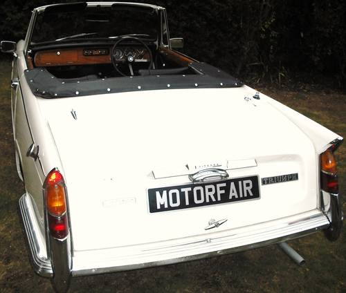 1971 STUNNING VITESSE MK2 CONVERTIBLE,OVERDRIVE,HERITAGE CERT For Sale (picture 3 of 6)