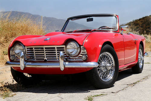 Triumph TR4 for restoration Wanted (picture 1 of 1)