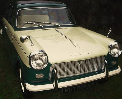 1 OWNER 1964 HERALD 12/50, PHOTOGRAPHIC RESTORATION, SUNROOF For Sale (picture 1 of 6)