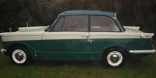 1 OWNER 1964 HERALD 12/50, PHOTOGRAPHIC RESTORATION, SUNROOF For Sale (picture 2 of 6)