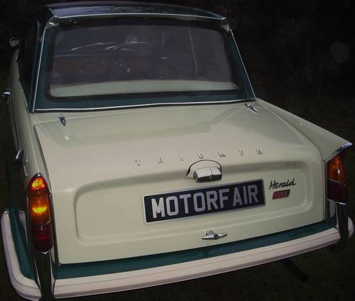 1 OWNER 1964 HERALD 12/50, PHOTOGRAPHIC RESTORATION, SUNROOF For Sale (picture 3 of 6)